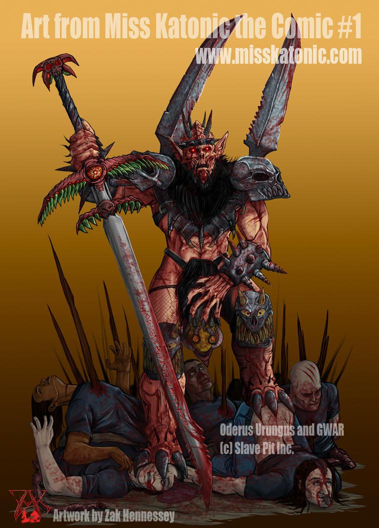 Oderus Urungus from GWAR by LazarusReturns