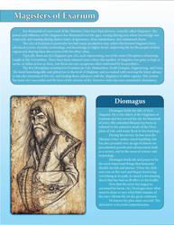Magisters of Exarium - Diomagus by LazarusReturns