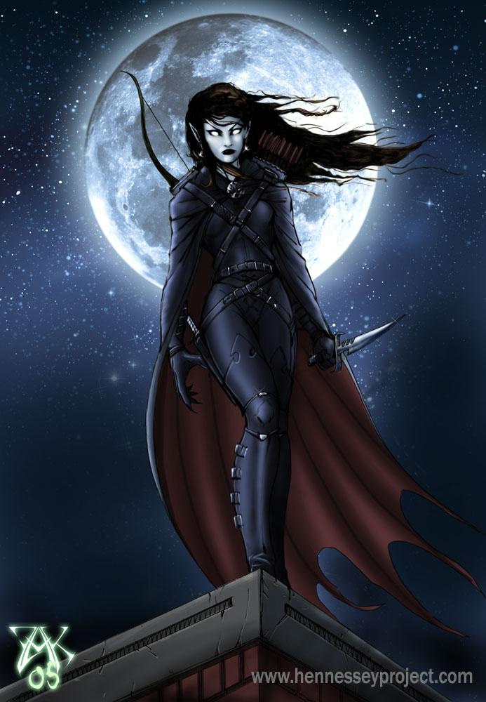 Vampire Rogue by LazarusReturns on DeviantArt