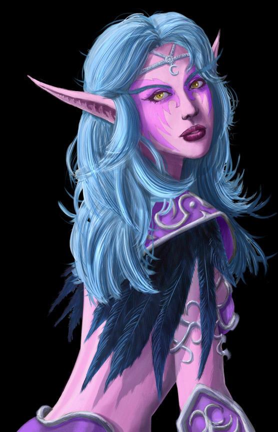 Эльфы          Night_elf_1_by_lazarusreturns