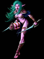 Night Elf 2 by LazarusReturns