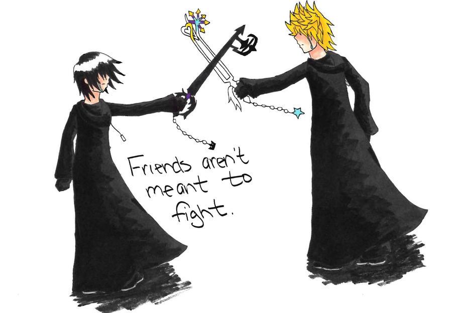 friends shouldnt fight by gamefreak013