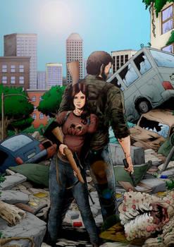 The Last of Us - Joel y Ellie Coloring