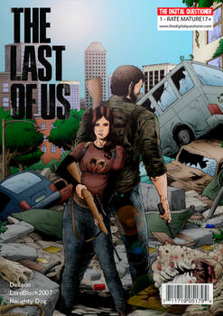The Last of Us - Joel and Ellie  - Fanart Cover