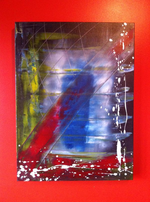 Abstract Acrylic 24in x 18in by MichalSirek