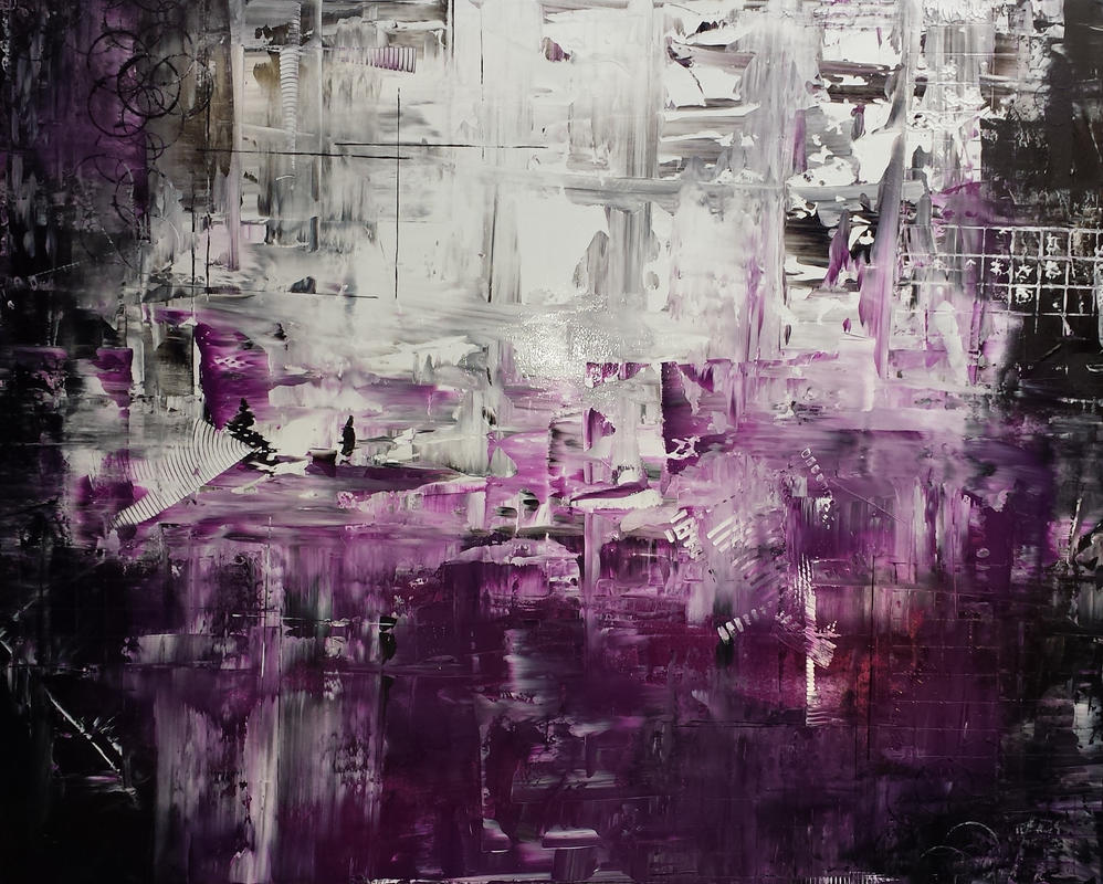 Purple Fashion by MichalSirek