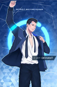 Connor - Detroit Become Human