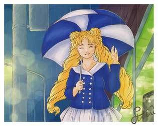 Listen to the raindrops sing by llStaraill