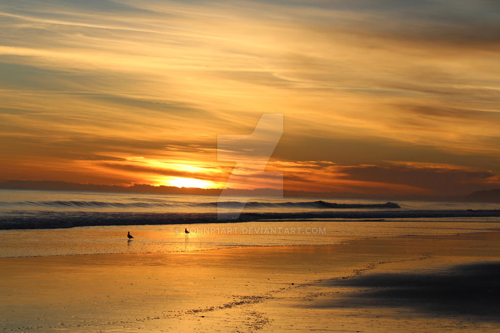 Pacific Dawn by JohnP1art