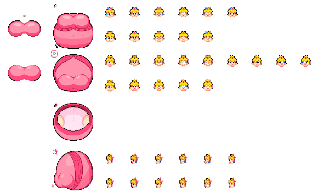 Balloon Peach Parts - And a tutorial on using them by reimarisakuya