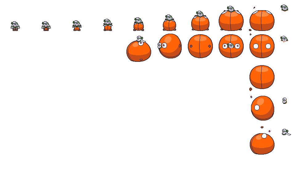 Balloon Sirica Sprite Sheet By Reimarisakuya On DeviantArt