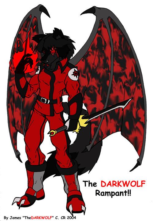 The DARKWOLF Rampant