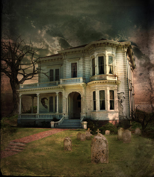 Spooky Old House By Lydia Distracted On DeviantArt
