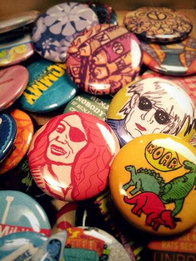 Buttons I've Made by Lydia-distracted