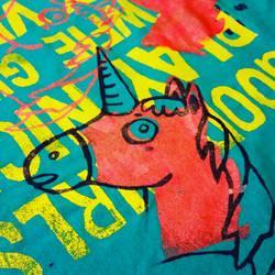 Unicorn Screen Print