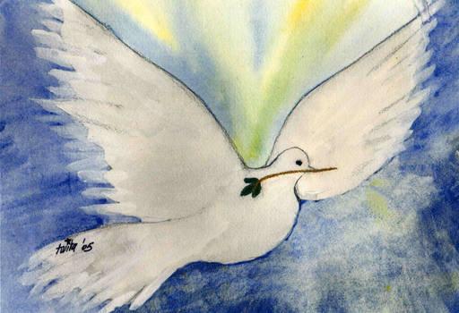 Christmas Dove by Twila M