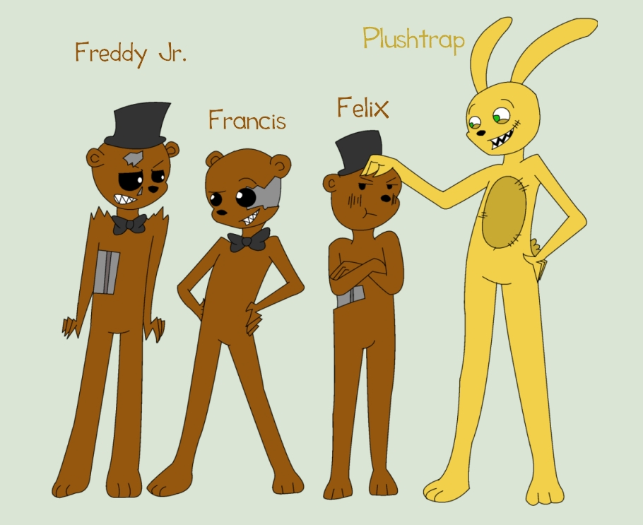 Plushtrap and the Freddles by Brighthart