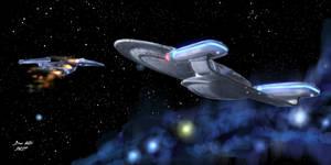 USS Enterprise to the Rescue