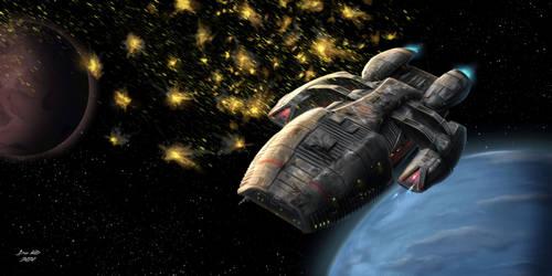 Battlestar Galactica - Flak