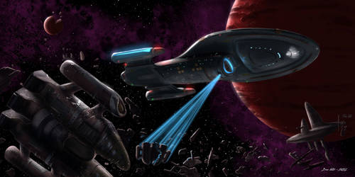 USS Voyager - Salvage