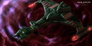 Klingon Vorcha Class - Ambush Predator