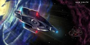 USS Defiant - Through the Wormhole