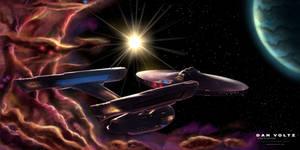 USS Enterprise - Guiding Star