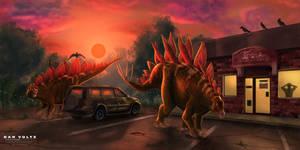 Stegosaurus Parking