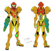 Samus Aran Varia Suit by D-Arm