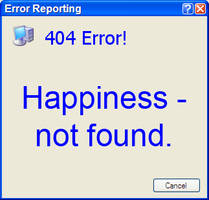 Error 404 by myfamilysmistake