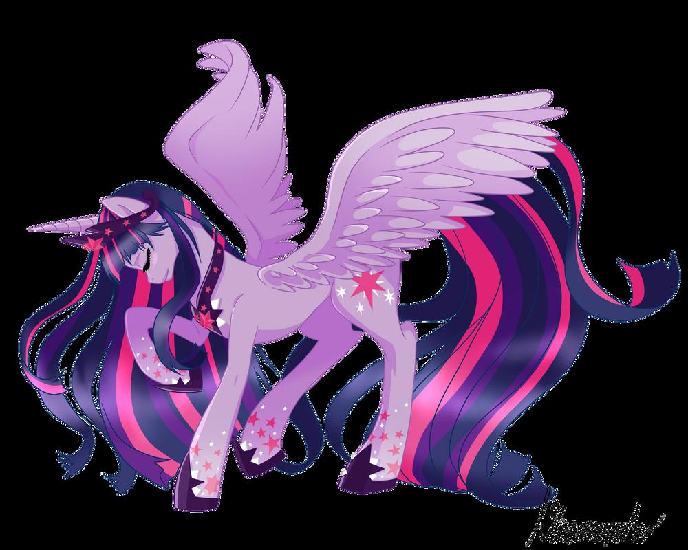 Alicorn Twilight Sparkle By Linamomoko On Deviantart