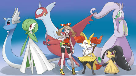 Pokemon Team ORAS by linamomoko