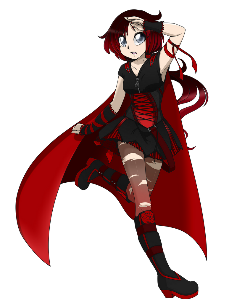 RWBY Fanfic - Ruby Rose by linamomoko on DeviantArt