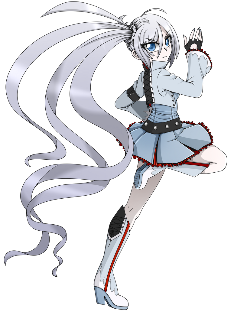 RWBY Fanfic - Weiss Schnee by linamomoko on DeviantArt