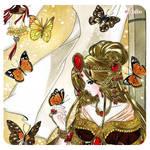 Butterfly Garden C.U by Mom0San