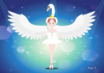 Swanlake Ballerina by Anzel-X