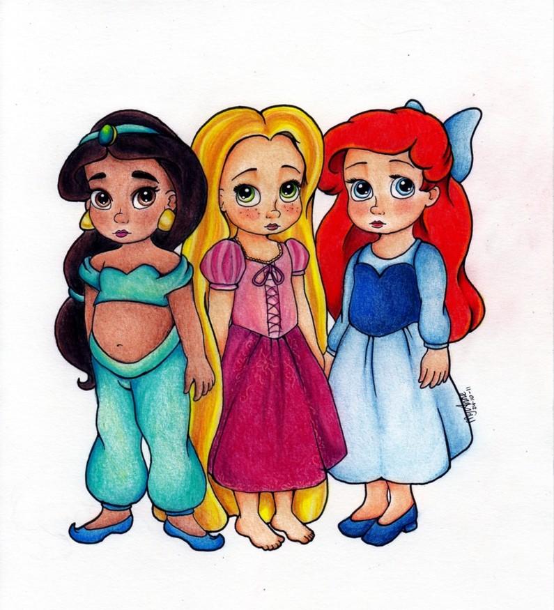 Petite princesse 1 by my anne on deviantart - Petite princesse disney ...