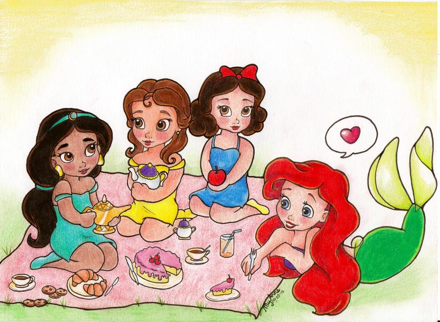 Petite picnic by my anne on deviantart - Petite princesse disney ...