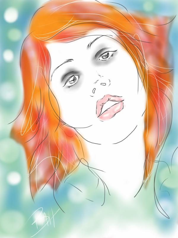 Digital Sketch by brookiecookie