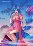 Phaelene Cat Girl: commish