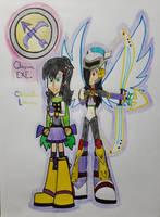 Clementine Lariene and Cheyenn EXE by Eli-Artist64