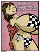 The Linen or Lace Anniversary by lightfootcomics