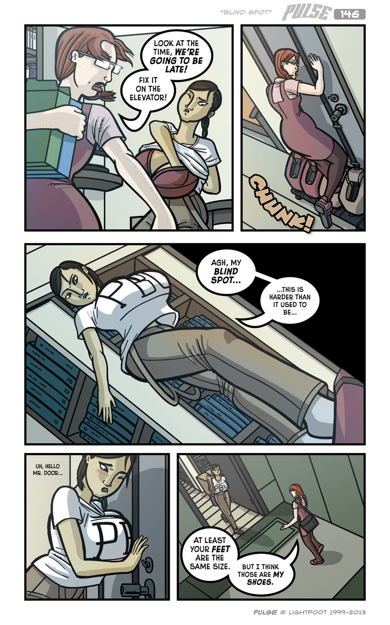 Pulse 146 by lightfootcomics