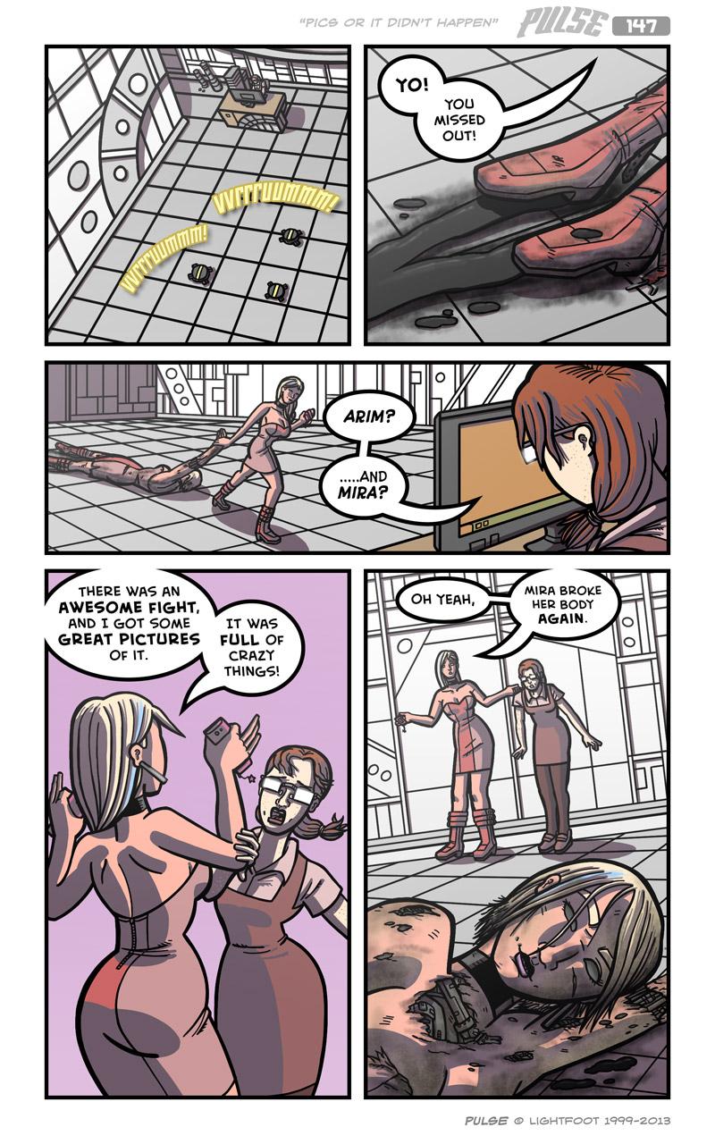 Pulse 147 by lightfootcomics