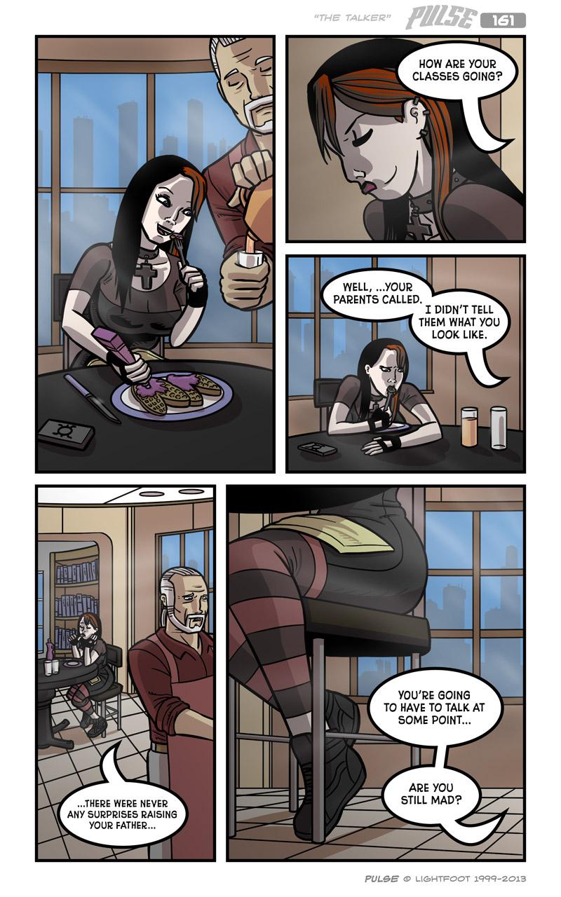 Pulse 161 by lightfootcomics