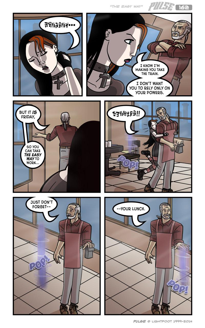 Pulse 162 by lightfootcomics