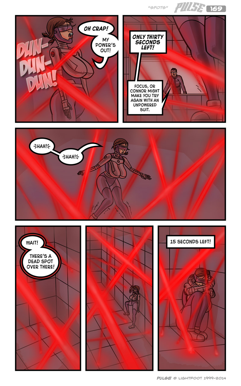 Pulse 169 by lightfootcomics