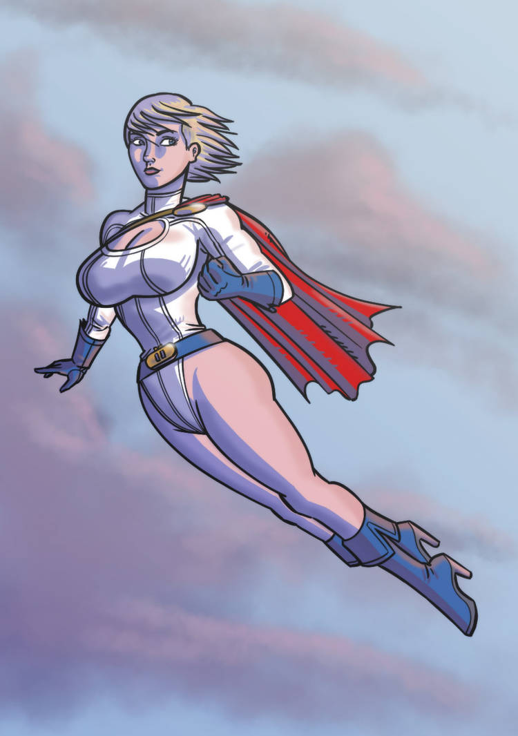 She's Got the Power by lightfootcomics