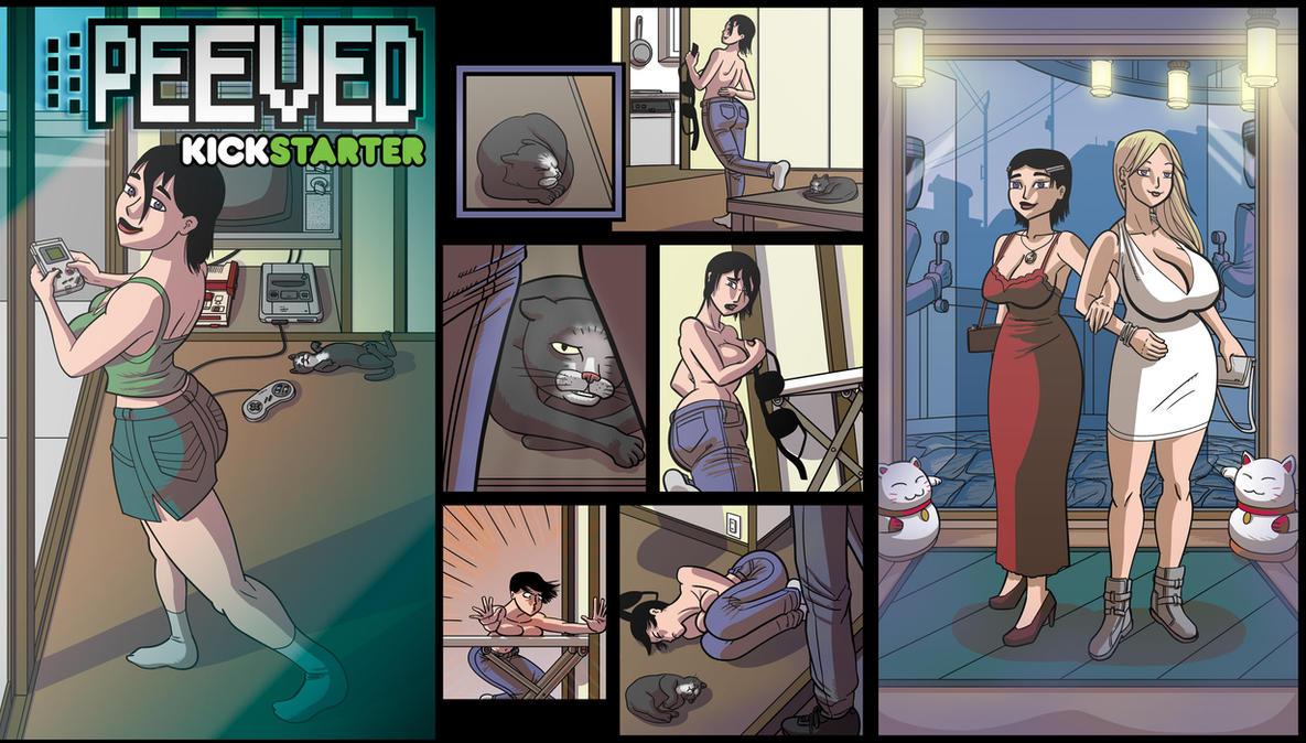 Peeved Kickstarter by lightfootcomics