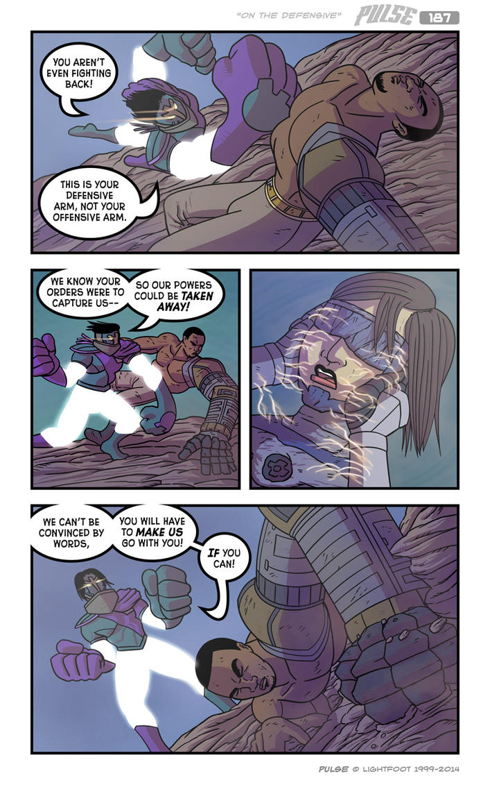Pulse 187 by lightfootcomics